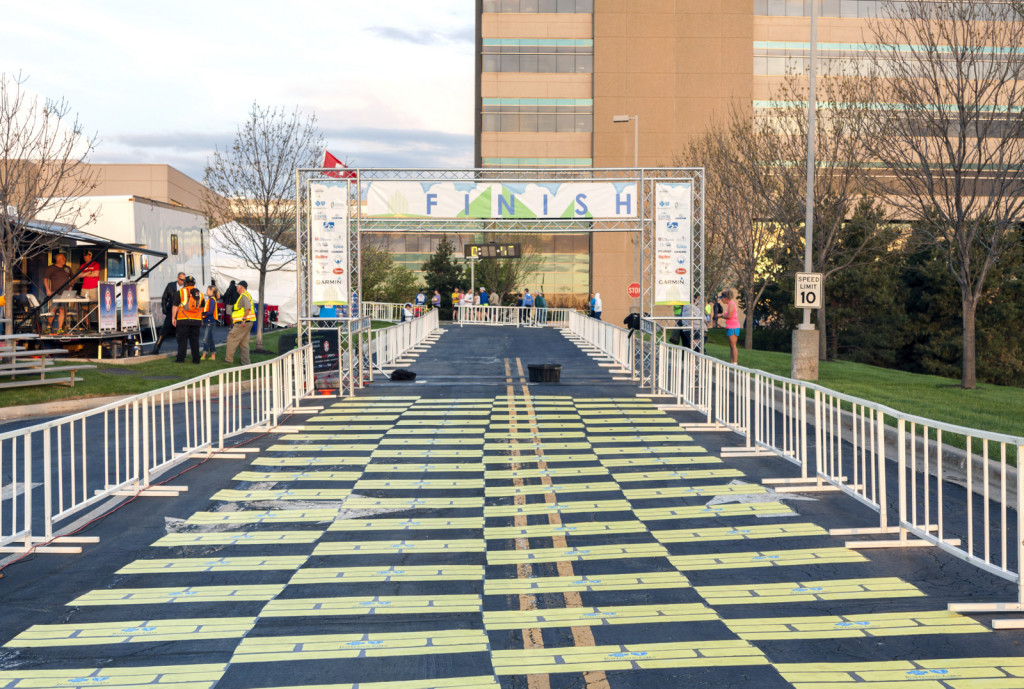 2014 Garmin Marathon Finish Line