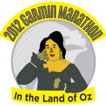 2012 full marathon medal