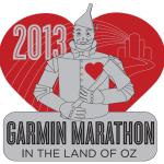 2013 Full Marathon medal