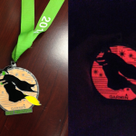 2014 half day and glow medal