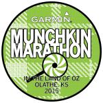2015 Garmin Marathon Kids T-Shirt Front