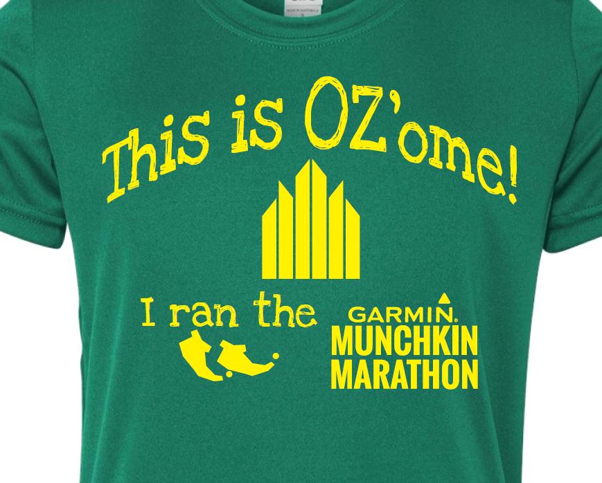 Oz-ome Munchkin Shirt Front
